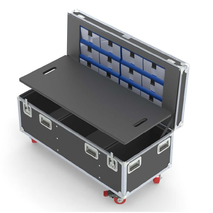 Find custom made ATA, flight & road cases for any need at Wilson Case. Choose from past designs or build your own custom ATA case. Order today!