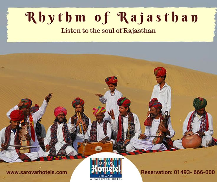 The soul-sational folk music of #Rajasthan will steal your heart away...  Please Call us for Reservation: 01493- 666-000  #travelDestination #weekendgetaway #IncredibleIndia #Bhiwadi
