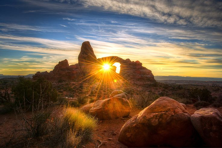 Arches National Park, transformation