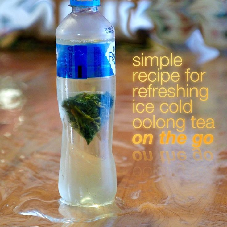Organic Tea Bag for Making ice-cold Oolong tea
