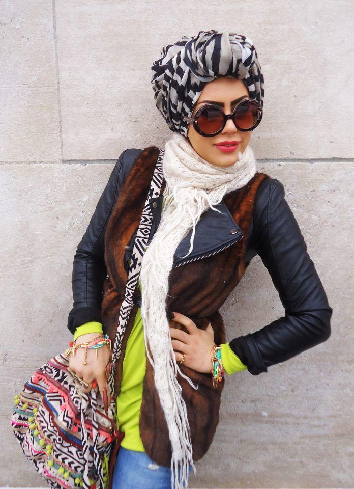 One word: fierce. #hijab #turban