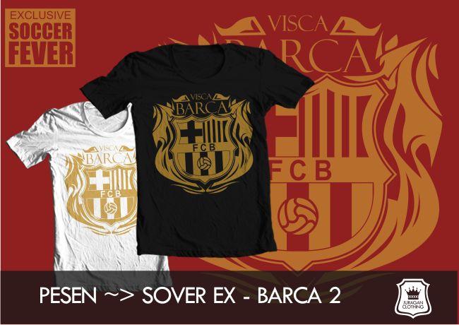 "Kaos BARCELONA #2 ""VISCA BARCA"" [READY STOCK] Fast Order - @BolaBolatshirt"