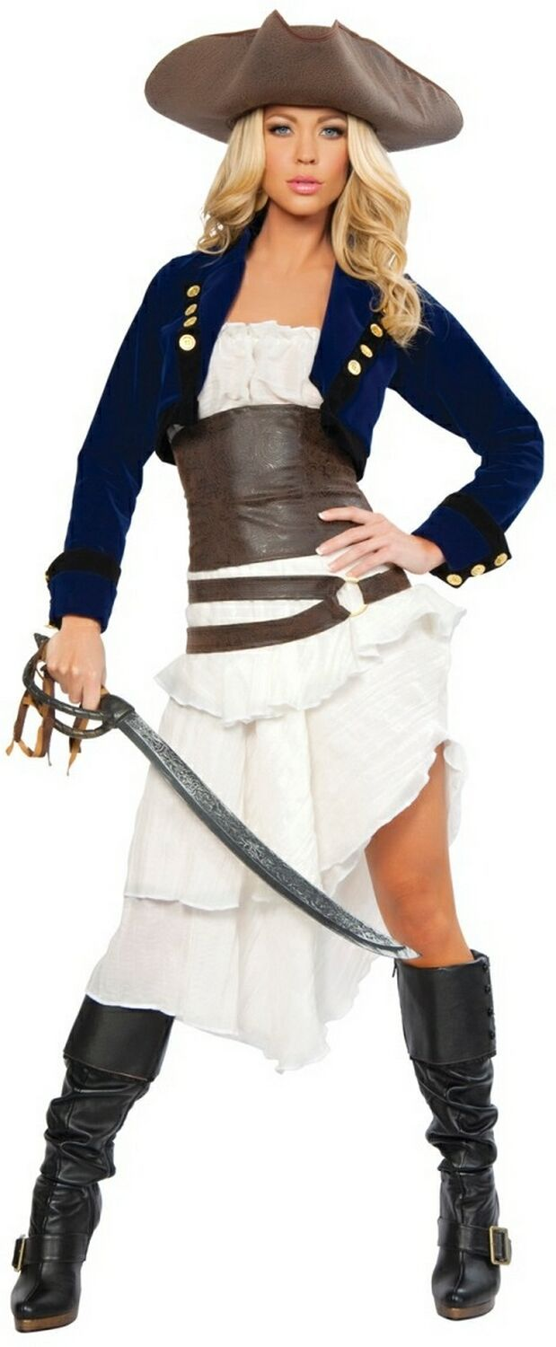 Adult+Pirate+Costumes | Adult Colonial Pirate Women Costumes $147.90