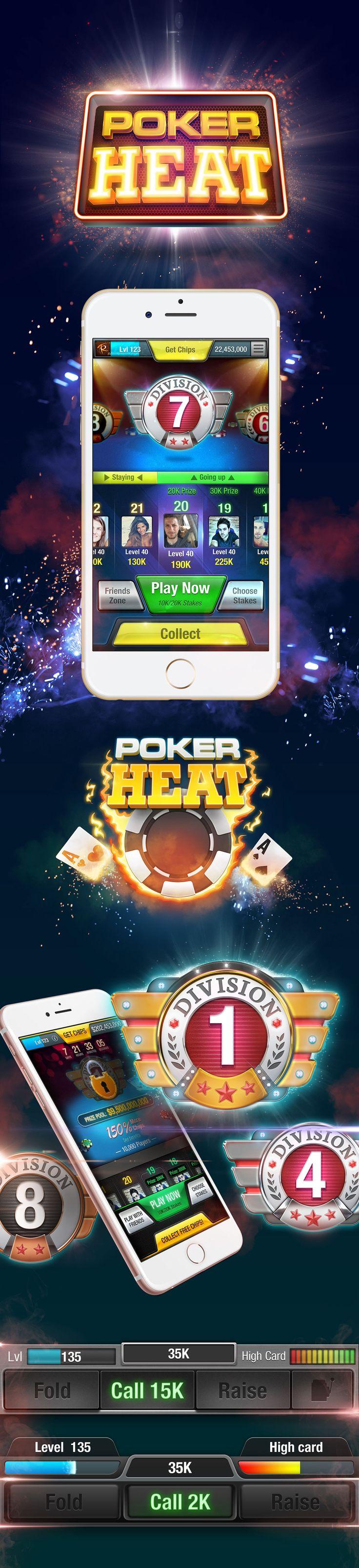 Poker Heat game ui