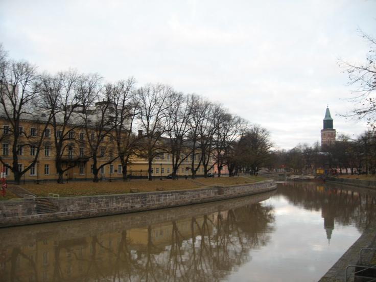Aura River, Turku