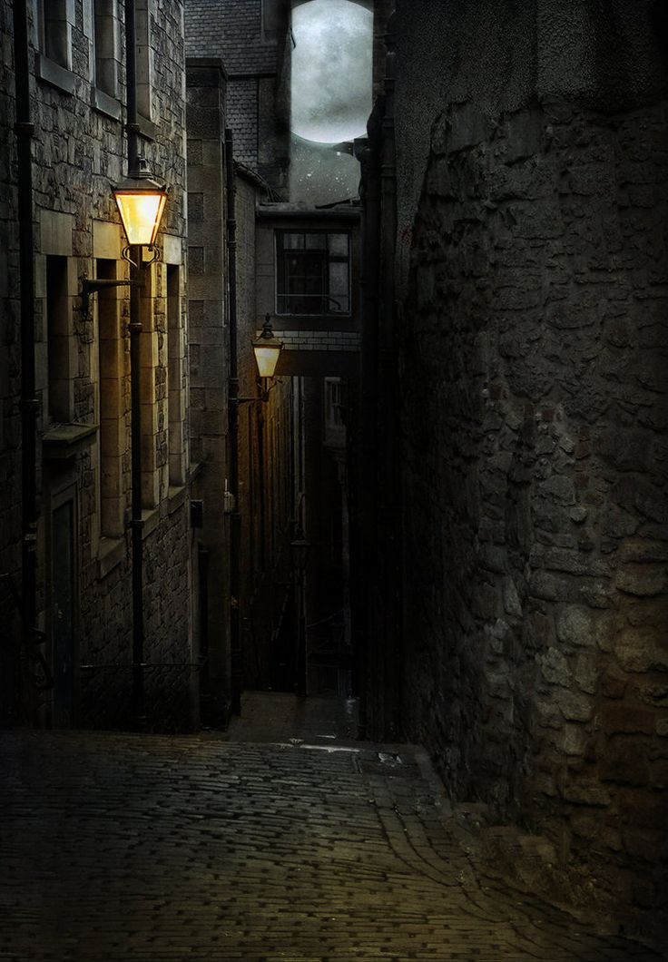 Alleyway in the capitol city