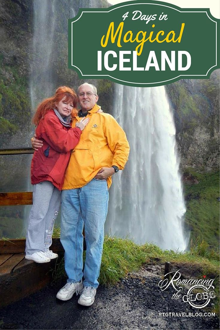 """A stopover in Iceland went from """"Why not?"""" to """"Oh, Wow!"""" Seljalansfoss Waterfall http://www.romancingtheglobetravelblog.com/iceland/"""