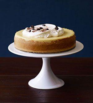 Kahlua Cheesecake #thanksgiving #desserts #holidays