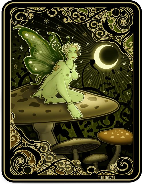Absinthe By Moonlight by philosophyam.deviantart.com on @deviantART