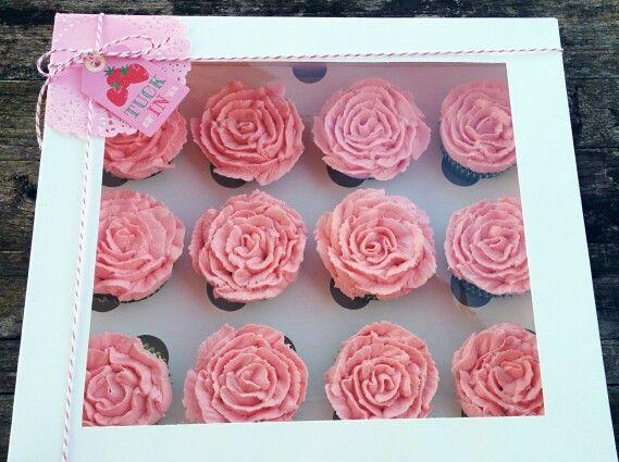 Roses cupcakes (Violeta Dulce)