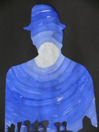 A la manière de Magritte.