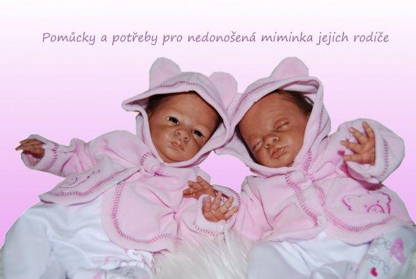 DVOJČÁTKA.CZ - extra obchod pro dvojčata a předčasně narozená miminka | Pomůcky pro nedonošená miminka