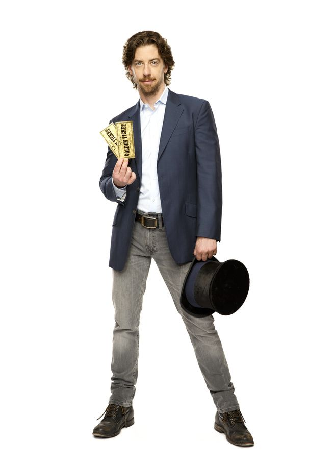 Christian Borle to Play Willy Wonka in Charlie and the Chocolate Factory on Broadway; Theater Set #PinoftheDay