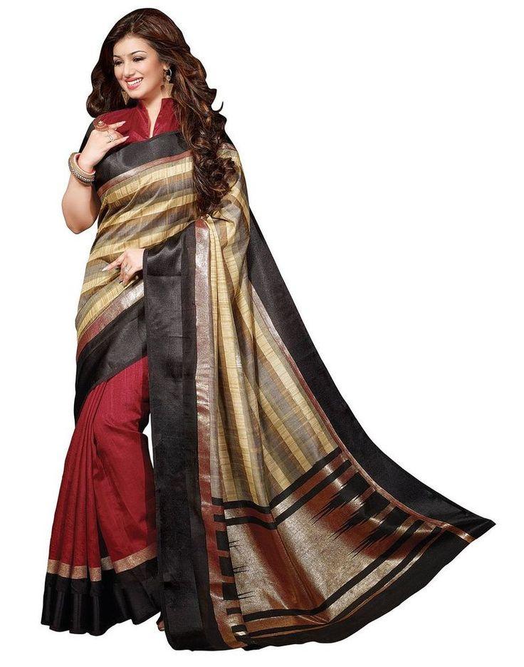 Indian Bollywood Style Beautiful Party Wear Traditional Designer Saree Sari