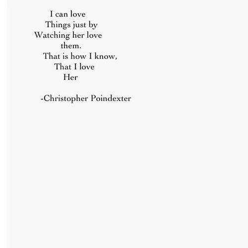 watching her (christopher poindexter)