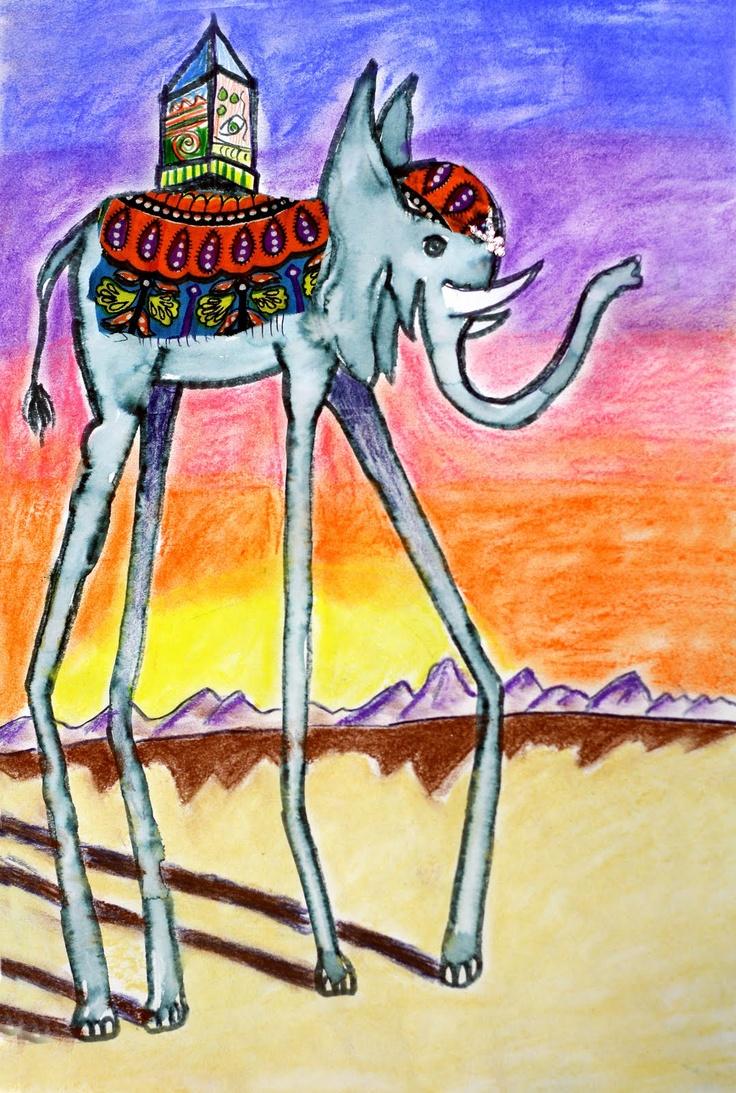 Surrealism: Salvador Dali Elephants and Surrealistic Creatures