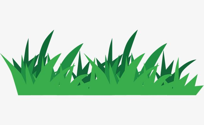 Cartoon Grass Turf Green Land Grassland Png And Vector With