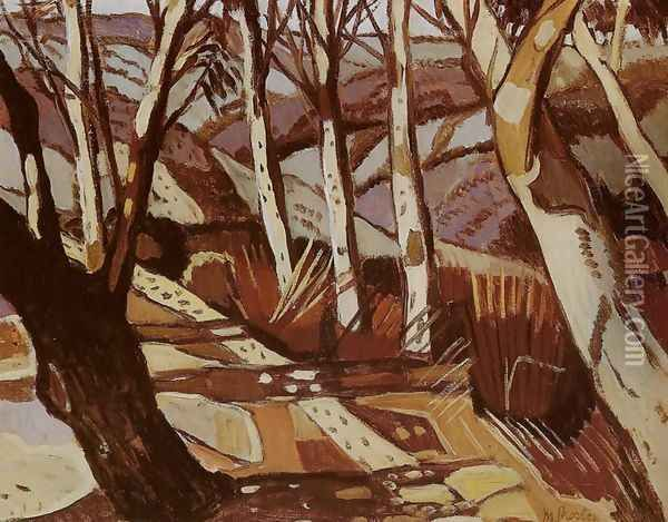 Aboriginal Landscape  Margaret Preston