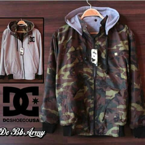 Dc army grey bolak-balik all size fit L 180rb call 523D5F13