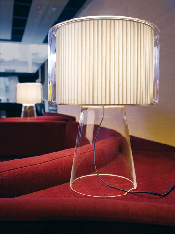 Mercer  Mercer Is A Beautiful And Elegant Lamp. The Fusion Of Different  Materials Achieves A Spectacular Result Due To Its Pure Cotton Ribboned  Shade ...