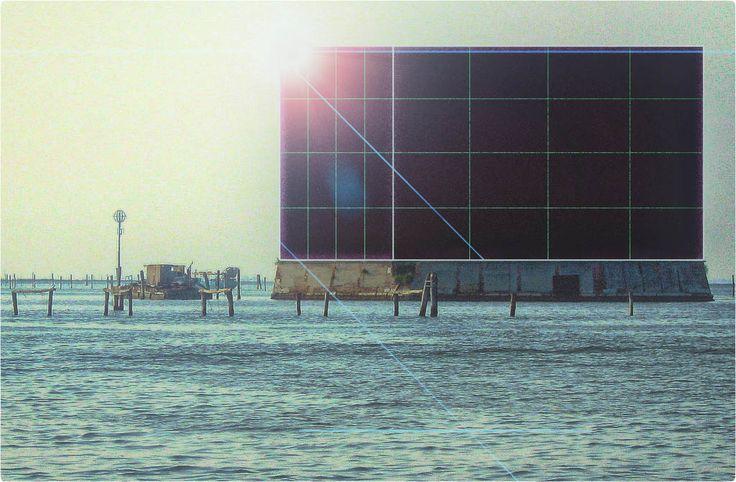 Bailey superelevation, Venice, collage. G.Grasso