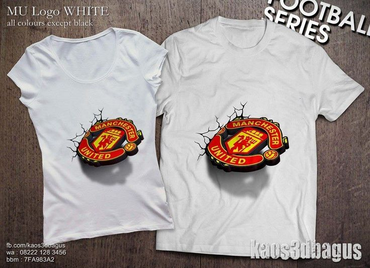 kaos 3d manchester united - Google Search