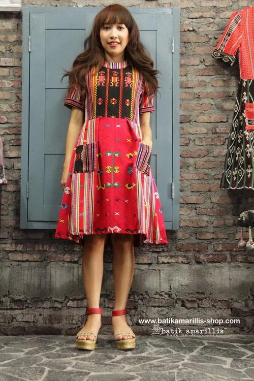 batik amarillis's it girl www.batikamarillis-shop.com