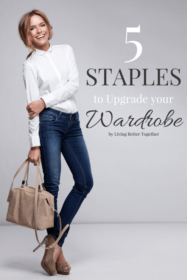 These 5 Staples will Upgrade your Wardrobe and make it looks more expensive than it really is! #KrasotkaPro #красота #здоровье #советы #КрасоткаПро