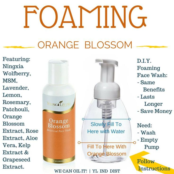 Living Wholly: Must Have Monday: Orange Blossom Botanical Face Wash