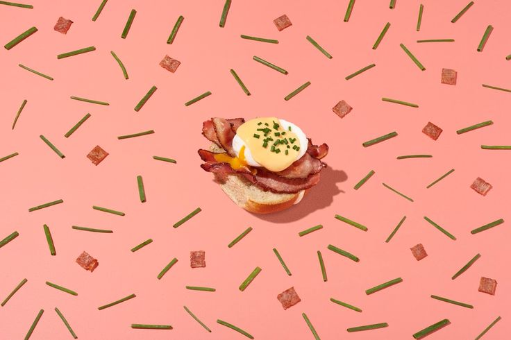 A classic breakfast with a special Easter twist, just in time for the long weekend! #HotCrossBun #Bacon #Egg #Hollandaise