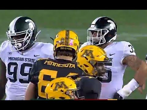 Michigan State Vs Minnesota Football 2017 Full Game Hd Michigan State Minnesota Football Michigan State University