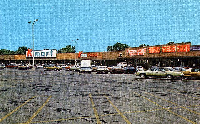 Kmart Shopping Center, Lima, Ohio 1973