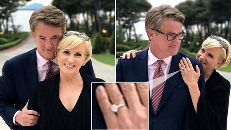 Mika Brzezinski shows off engagement ring from Joe Scarborough @morningmika @JoeNBC 4:56