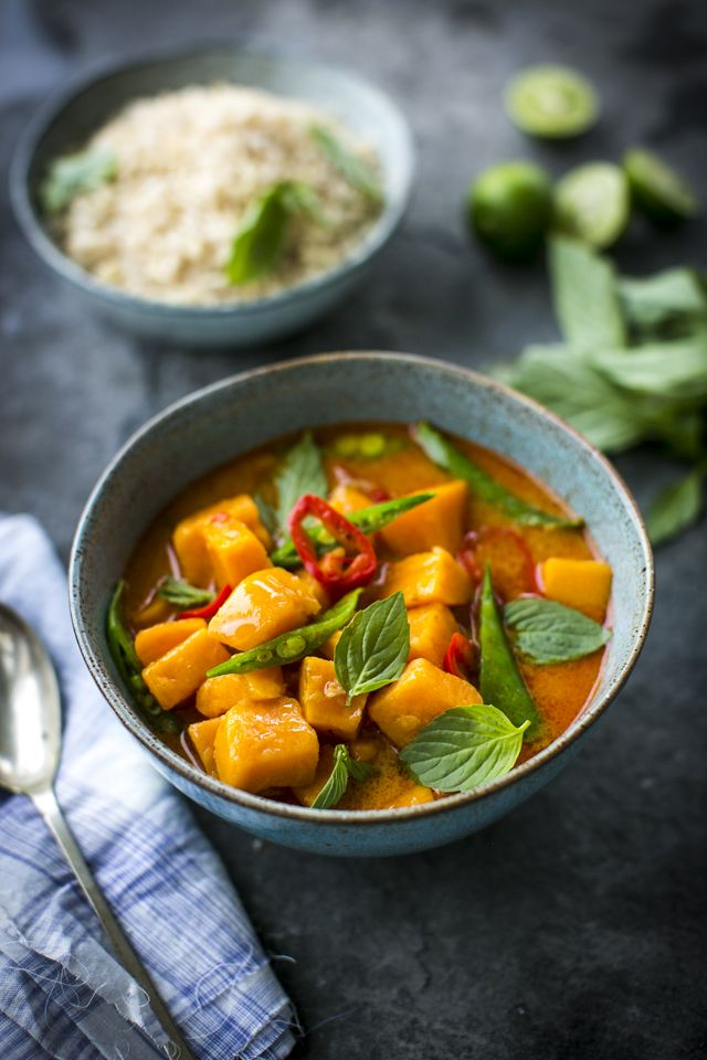 Thai Sweet Potato Stew with Lemongrass & Ginger Brown Rice   DonalSkehan.com, A Thai Stew offering ultimate warmth and flavour for the colder months.