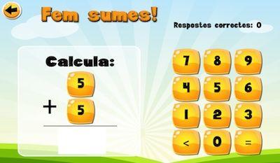 Sumes i restes. App's per a nens. #sortirambnens