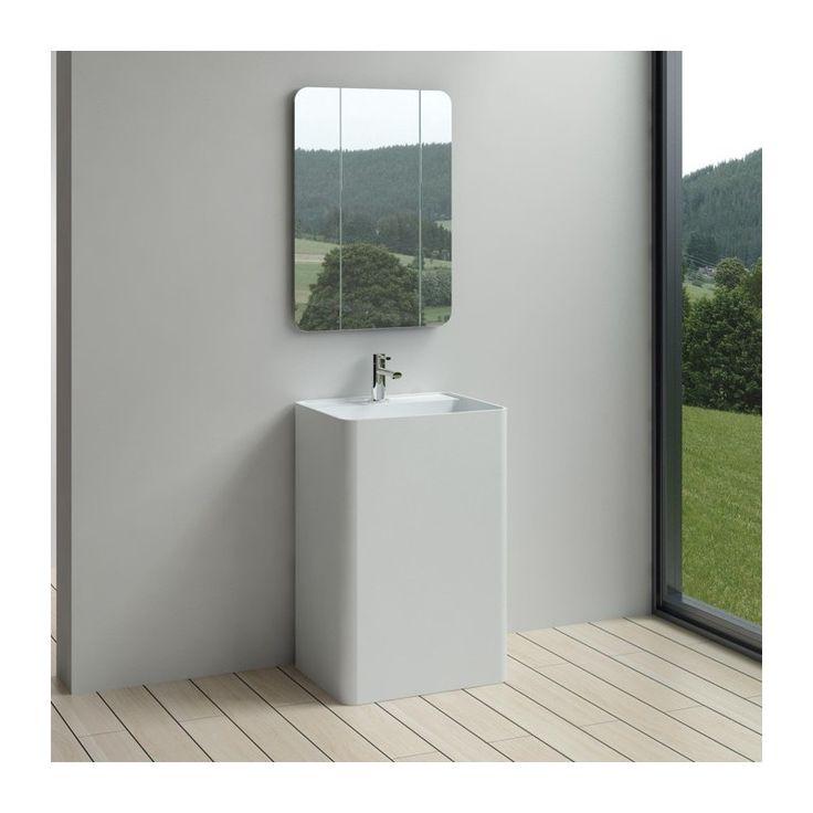 1000 id es sur le th me vasque totem sur pinterest. Black Bedroom Furniture Sets. Home Design Ideas
