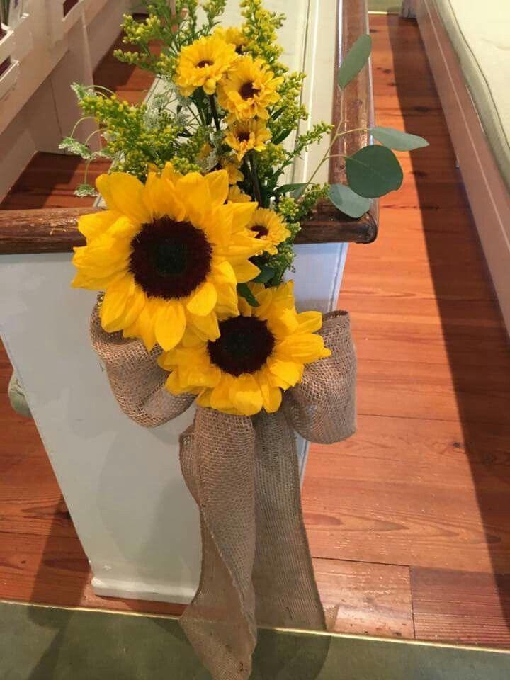 Best pew markers ideas on pinterest flowers