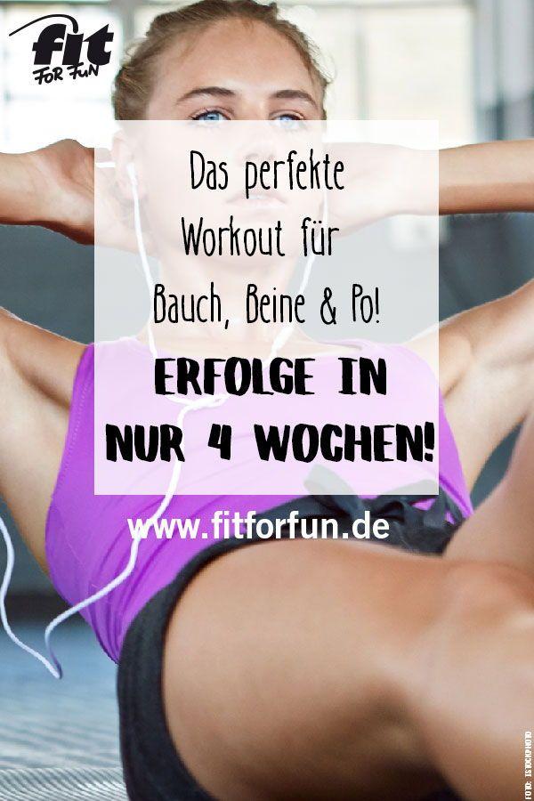 Bauch, Beine, Po: Das perfekte BBP-Workout!