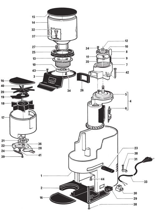 Gaggia MDF - Parts Diagram Part Diagrams Pinterest Coffee, Espresso machine and Coffee ...