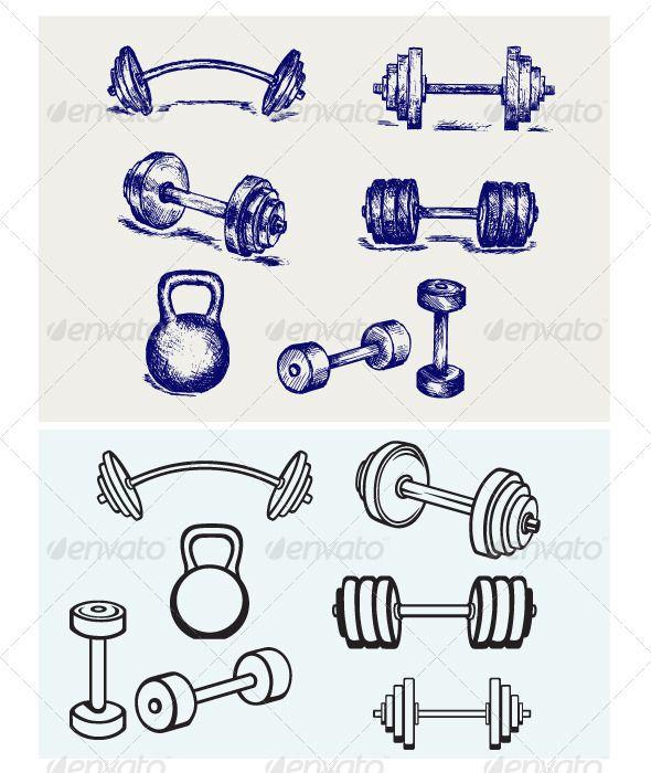 54 best images about gym and dumbells tattoos ideas on pinterest fitness motivation lover. Black Bedroom Furniture Sets. Home Design Ideas