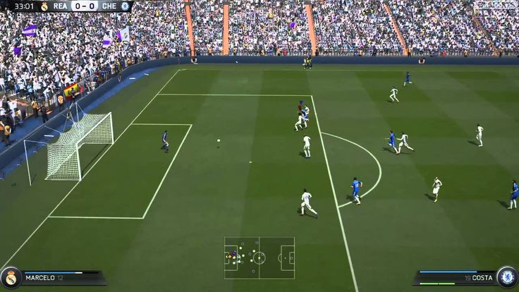FIFA 15 Kick Off 1-3 REA V CHE, 2nd Half