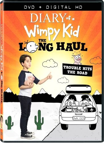 Diary of a Wimpy Kid - The Long Haul DVD #sponsored Movie Review