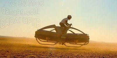 Aero-x Sepeda Motor Terbang Pertama di dunia