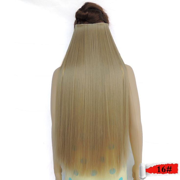 """70 ס""""מ 28 סנטימטרים מגה אחת ערמוני החל שיער הרחבות הארכת הפאה extention מהיר על חתיכות קליפ אמיתי סינטטי אופנה"""