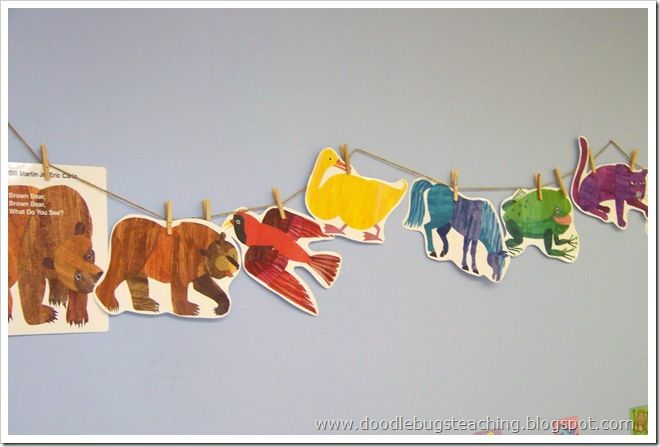 Brown Bear Brown Bear activities & printables