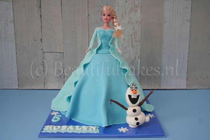 Frozen-taart voor Rosalyn