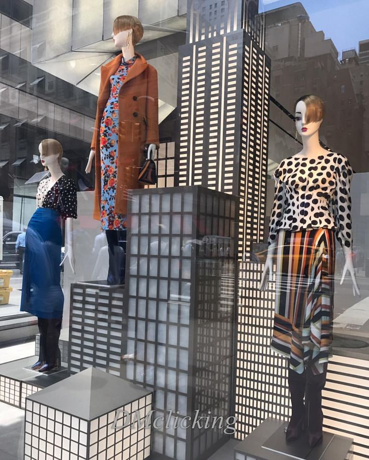 """ZARA, 5th Avenue, New York, """"New York is the city that other cities only can dream of being"""", DMclicking, pinned by Ton van der Veer"""