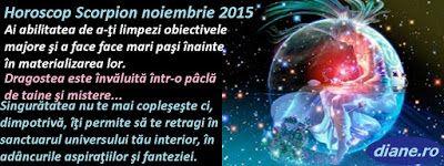 diane.ro: Horoscop Scorpion noiembrie 2015
