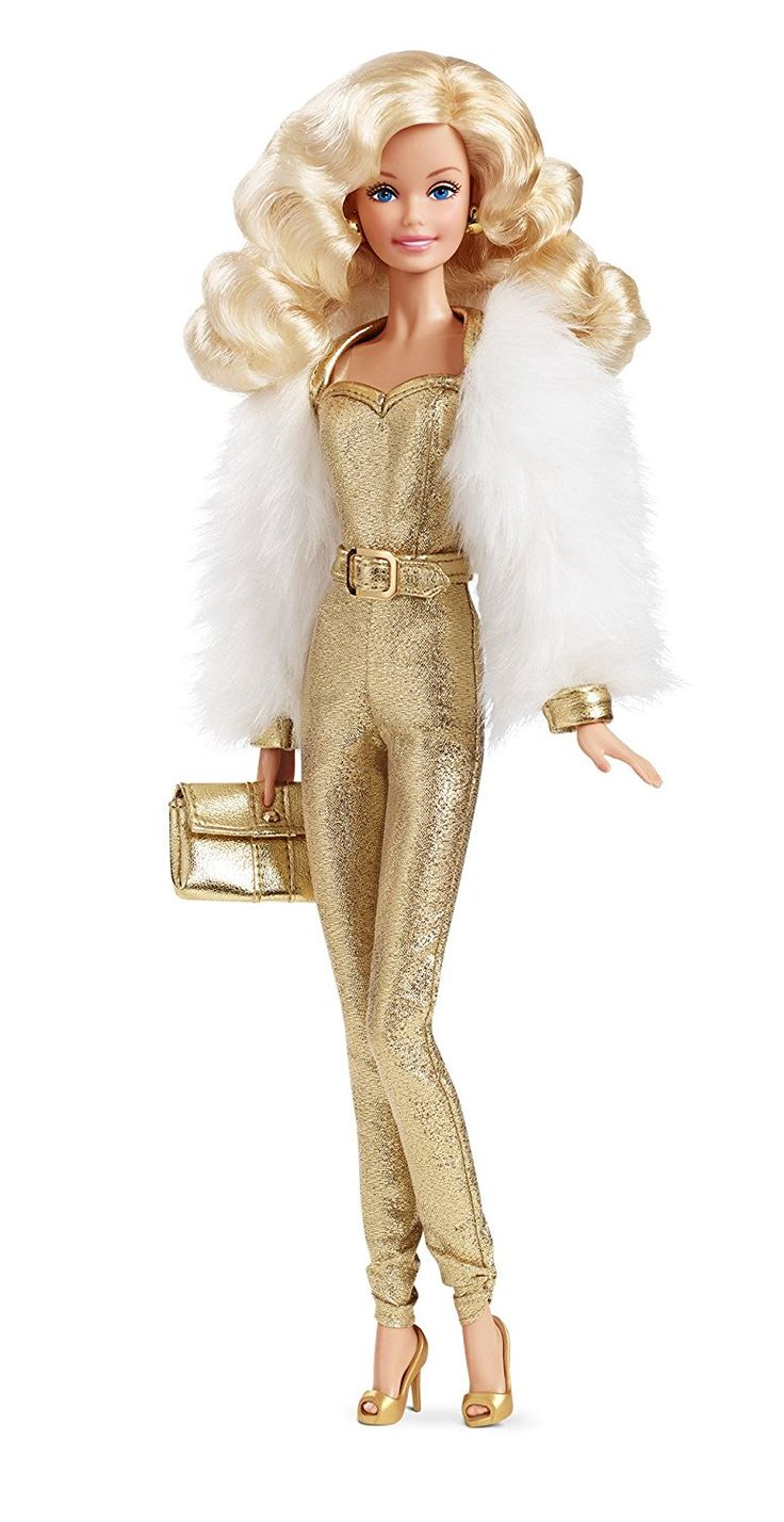 Amazon com barbie golden dream superstar forever collection doll toys games
