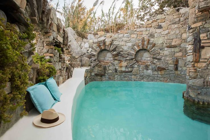 This summer the fairytale comes out of the book! Indulging all your fantasies of an enchanted, secluded castle with sea water pool and servants to do your bidding at #NoahsVilla #kivotosmykonos #luxurytravelling #privatebeach #instatravel #summer #mykonos   http://qoo.ly/fvzkx